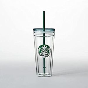 Starbucks Double Walled Glass Cold Cup